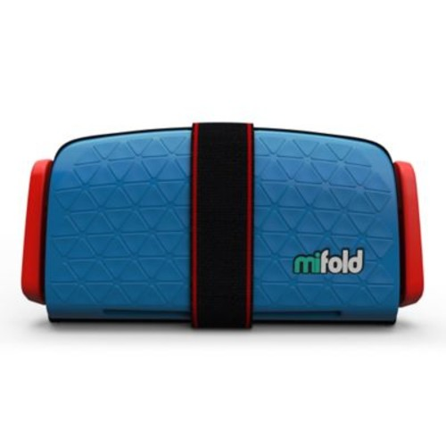 mifold Grab-n-Go Booster Car Seat in Blue