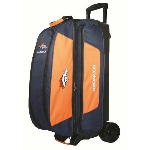 KR Strikeforce Denver Broncos Triple Roller Bowling Bag, Multicolor