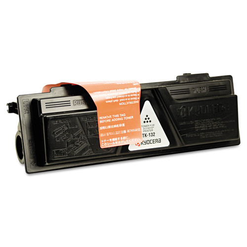 Kyocera KYOTK132 TK132 Toner, 7200 Page-Yield, Black