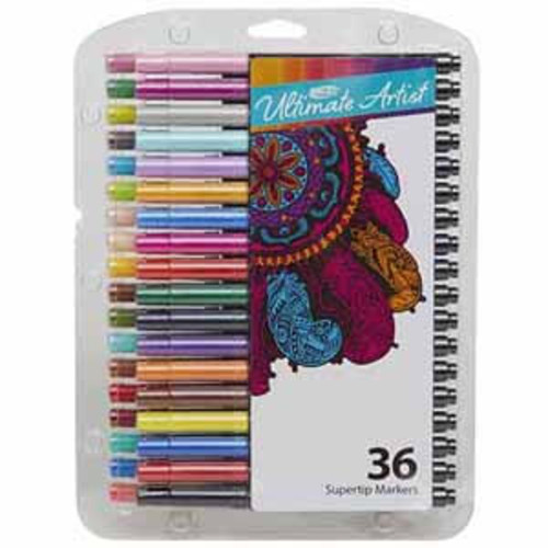 RoseArt Ultimate Artist 36ct Super Tip Markers