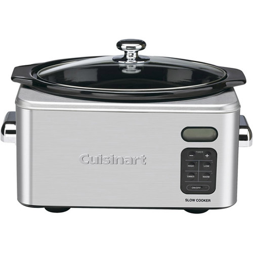 Cuisinart PSC-650 Stainless Steel 6-1/2-Quart Programmable Slow Cooker [6.5-Quart]