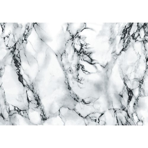 D-C-Fix Marble Grey 26 in. x 78 in. Home Decor Self Adhesive Film