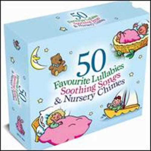 50 Favourite Lullabies By Various Artists (Audio CD)