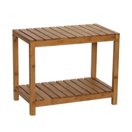 Honey Can Do Bathroom Accessories Bamboo Spa Bench