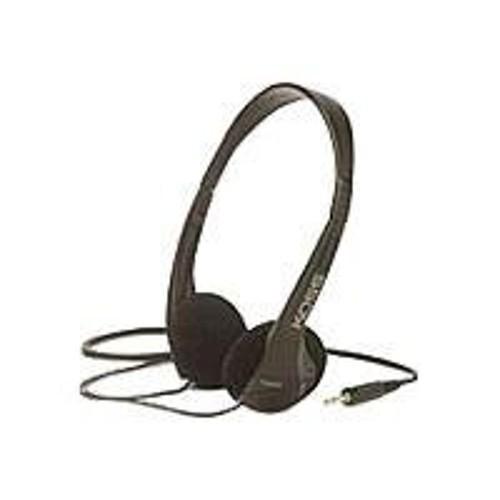 Koss Corporation TM602 - Headphones - on-ear - 3.5 mm jack - black (TM-602)