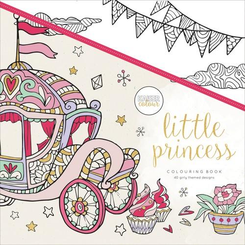 KaiserColour Perfect Bound Coloring Book Little Princess
