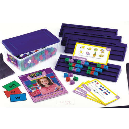 Learning Resources Reading Rods Word Building Classroom Kit