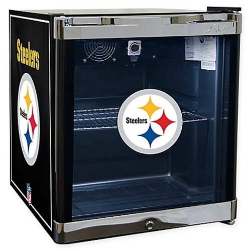 NFL Pittsburgh Steelers 1.8 cu. ft. Beverage Cooler
