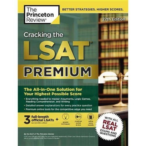 Princeton Review Cracking the LSAT : The All-in-One Solution for Your Highest Possible Score (Premium)