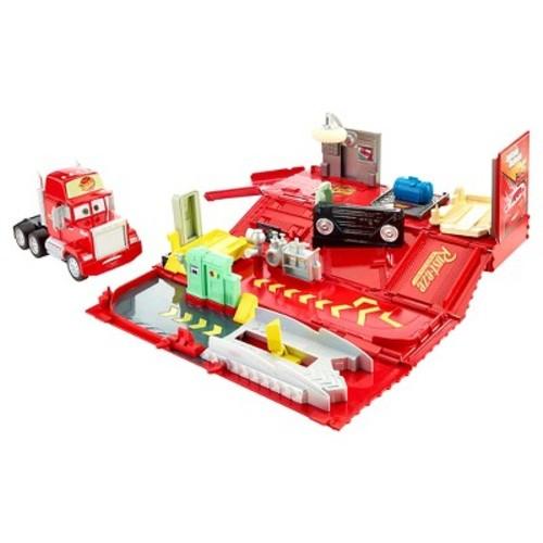 Disney Pixar Cars Mack Action Drivers Playset - Red