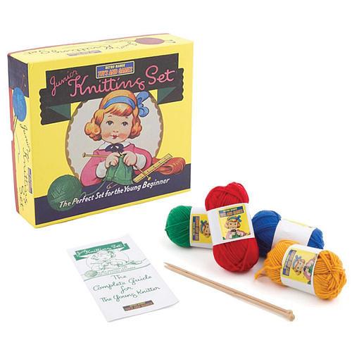 Junior Knitting Set Craft Kit