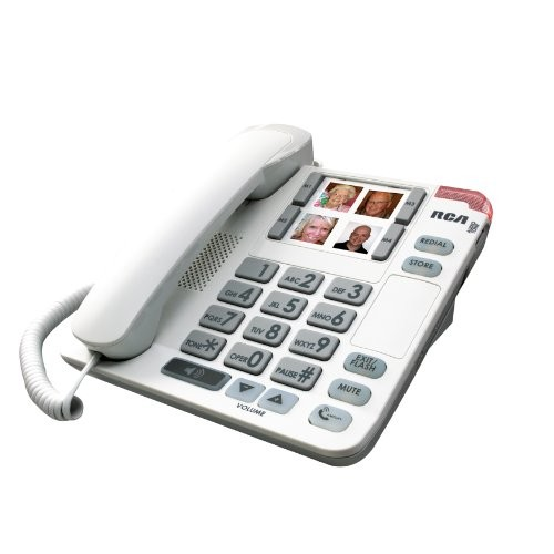 RCA 1123-1WTGA Amplified Big Button Corded Phone [corded]