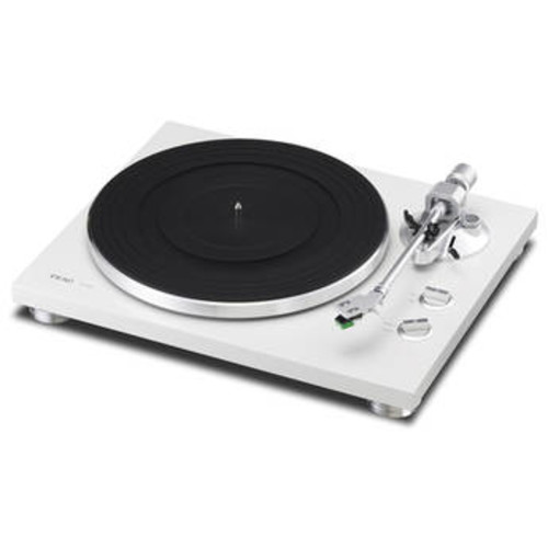 TN-300 Turntable with Phono EQ and USB (White)
