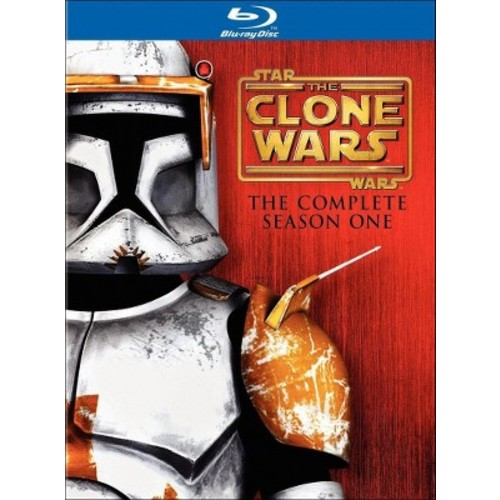 Star wars:Clone wars season one (Blu-ray)