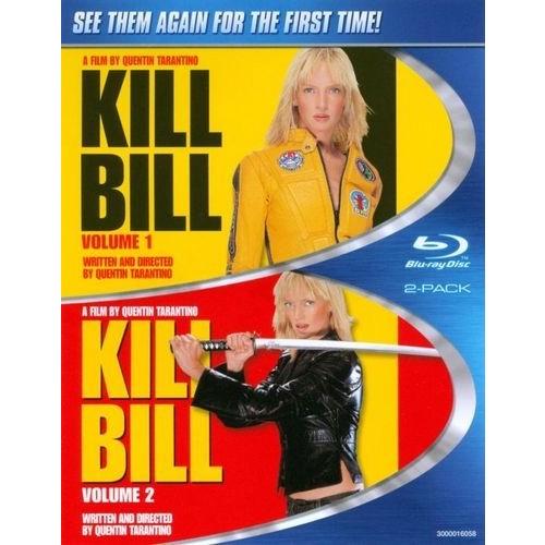Kill Bill Vol. 1/Kill Bill Vol. 2 [2 Discs] [Blu-ray]
