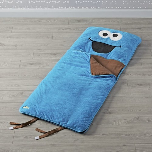 Sesame Street Furry Cookie Monster Sleeping Bag