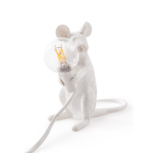 Mouse Sitting Lamp
