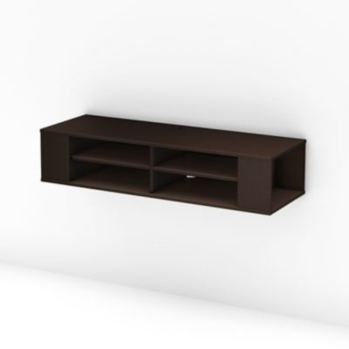South Shore City Life Laminated Particleboard Wall Mounted Media Consoles
