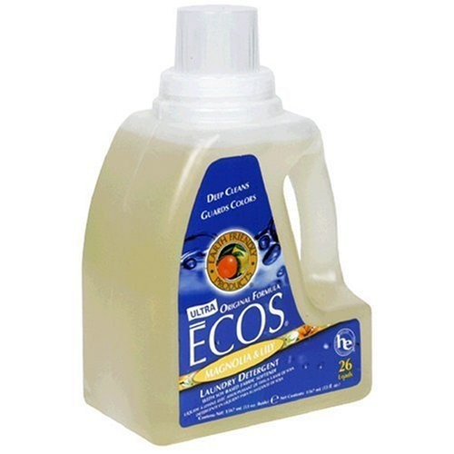 Earth Friendly Products Ecos Liquid Detergent, Magnolia & Lily, 50 Ounce