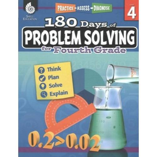180 Days of Problem Solving for Fourth Grade (Paperback) (Chuck Aracich)