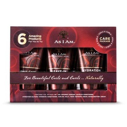 As I Am Coils & Curls Cair Travel Pack