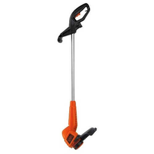 BLACK+DECKER 13 in. 4.4-Amp Corded Electric Straight Shaft Single Line 2-in-1 String Grass Trimmer/Lawn Edger