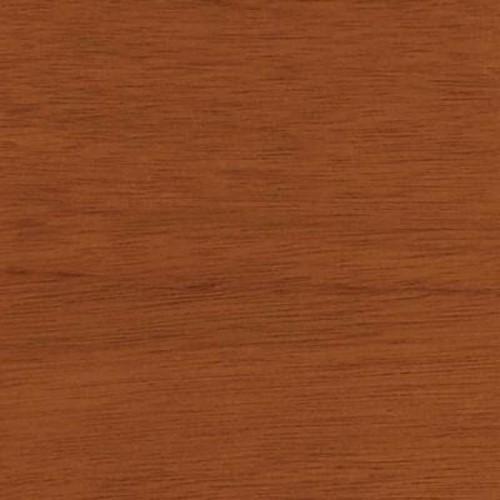 Clopay 4 in. x 3 in. Wood Garage Door Sample in Luan with Cedar 077 Stain