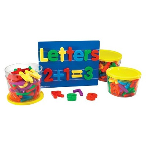 Learning Resources Jumbo Magnetic Letters and Numbers