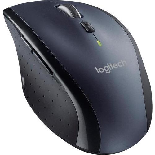 Logitech - Marathon Wireless Laser Mouse - Dark Gray