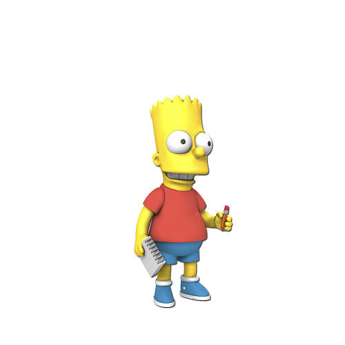 Simpsons 25th Anniversary - 5 Inch Figure - Series 5 Bart Simpson