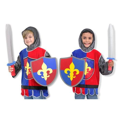 Melissa & Doug Knight Role Play Costume Set