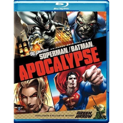 Superman/Batman: Apocalypse/Green Arrow [Blu-ray]