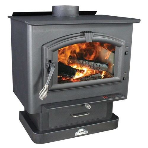 US Stove 2,000 sq. ft. EPA Certified Wood-Burning Stove