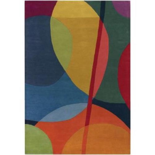 Chandra Bense Multicolor 7 ft. 9 in. x 10 ft. 6 in. Indoor Area Rug