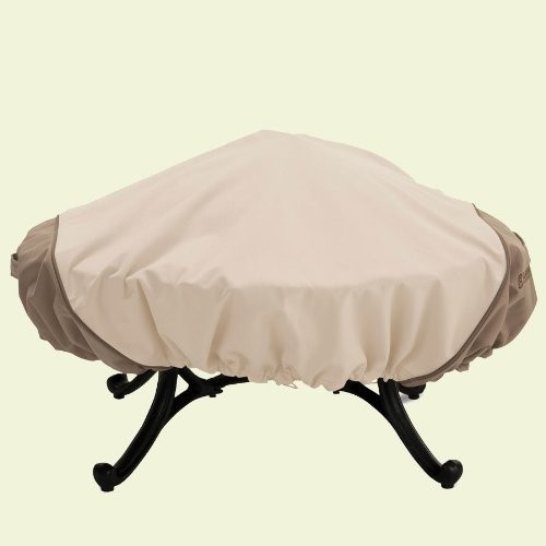 Classic Accessories Veranda Large Round Fire Pit Cover [Large]