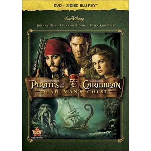 Pirates of Caribbean: Dead Man's Chest (3 Discs) (Blu-ray/DVD) (dvd_video)