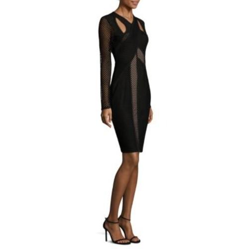 BCBGMAXAZRIA - Mesh Dress