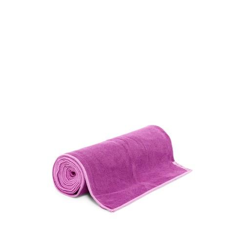 Dual-Grip Yoga Mat Towel