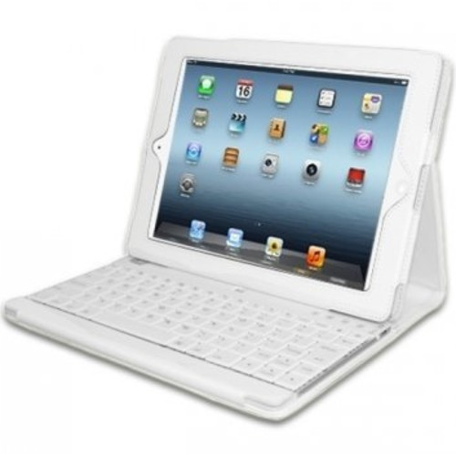 Adesso Comapgno3 Keyboard With Case For Ipad 2/3/4 ( White)