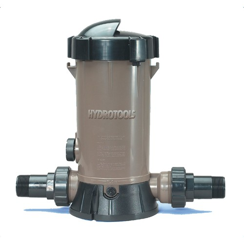 In-line Chlorine Feeder for Above Ground Swimming Pools