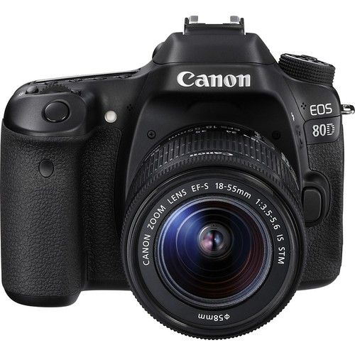 EOS 80D DSLR Camera with 18-55mm Lens