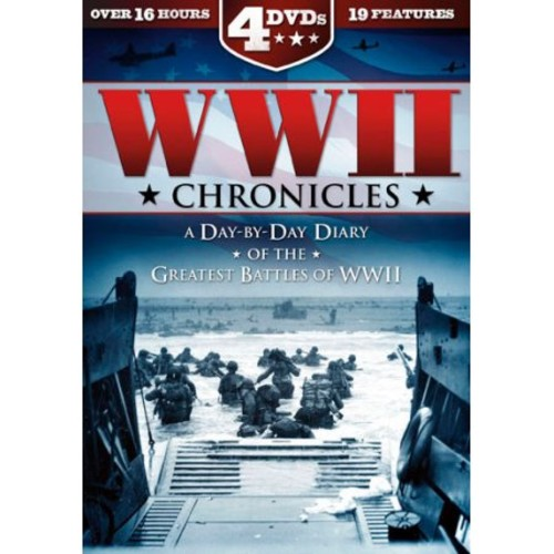 WWII Chronicles: A Day-By-Day Diary of the Greatest Battles of WWII [4 Discs]