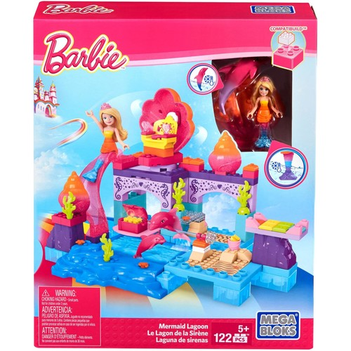 Mega Construx Barbie Mermaid Lagoon
