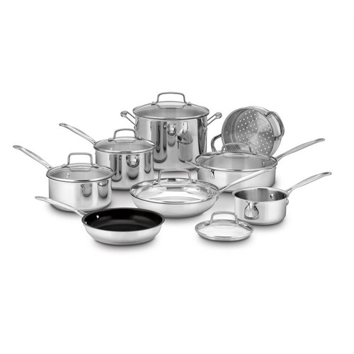 Chef's Classic Stainless, 14-Piece Set