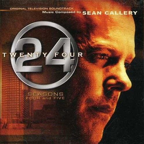24: Seasons 4 & 5 [Original Television Soundtrack] [CD]