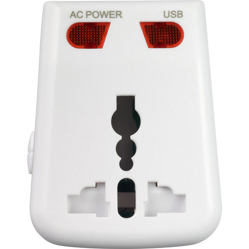 Go Travel Worldwide Adaptor + USB