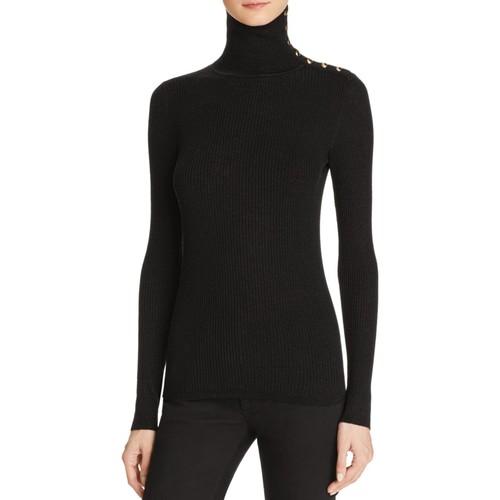 BURBERRY Beavly Button Merino Wool Sweater