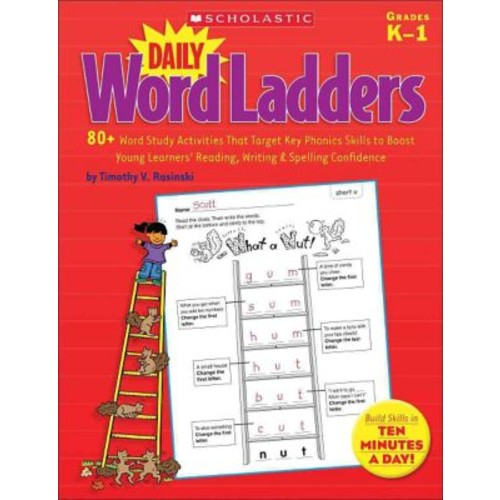 Daily Word Ladders Paperback