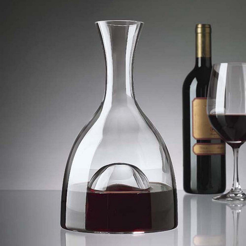 Wine Enthusiast Visual Wine Decanter, 48 Oz