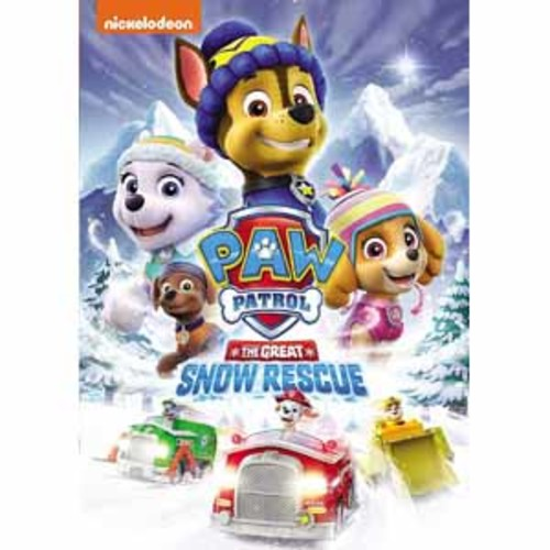 PAW Patrol: The Great Snow Rescue (DVD)